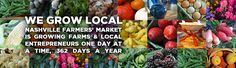 Nashville Farmers' Market, 900 Rosa L. Parks Blvd (adjacent to Bicentennial Park), open daily approx. Nashville Farmers Market, Nashville Trip, Nashville Tennessee, Visit Tennessee, Bicentennial Park, New Travel, Summer Fun, Great Recipes, Things To Do