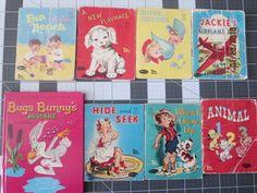 Vintage Whitman children books Lot of 8