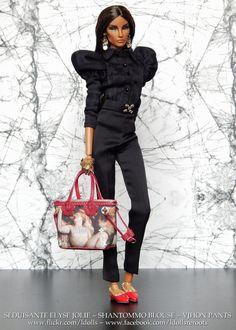 https://flic.kr/p/FMDwQ8 | Séduisante | Séduisante Elyse Jolie Shantommo blouse VJhon pants