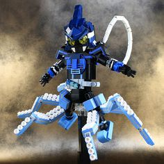 Kamen Rider OOO-Shauta Combo | by LEGO DOU Moko