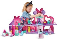 Fisher-Price - Disney Minnie Mouse - Fabulous Shopping Mall by Fisher-Price: Amazon.it: Giochi e giocattoli