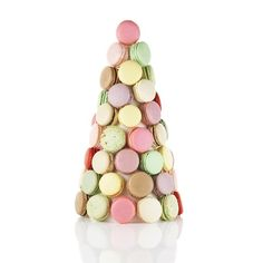 Planning a party? Nothing says celebration like a NADÈGE macaron tower. Available from 1-3 ft. Email info@nadege-patisserie.com for more info!