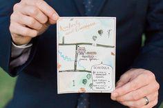 Mapa tipo desenhado à mão - PAPER LOVE CLUB
