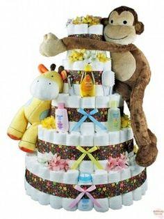 Diaper cake - sheababy organic