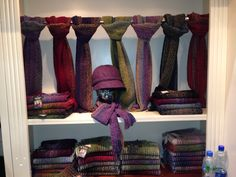 Mucros Weavers Workshop 2014 Wool Scarf, Irish, Scarves, Workshop, Furniture, Home Decor, Fleece Scarf, Scarfs, Atelier