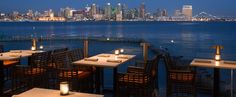 There is absolutely no view in San Diego like the one at Coasterra restaurant and event space on Harbor Island.