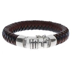 Buddha to Buddha Ben bracelet leather - WatchesnJewellery