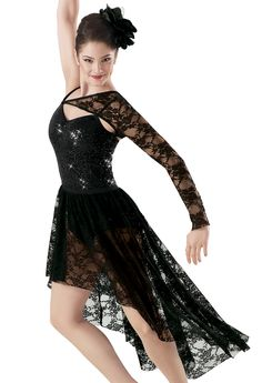Looks like my ballet costume from last years recital! Dance Costumes Lyrical, Ballet Costumes, Lyrical Dance, Dance Outfits, Dance Dresses, Lace Leotard, Dance Wear, Beautiful Dresses, Sequins
