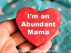 I'm taking the Abundant Mama e-course in a quest for more peaceful, mindful and connected parenting. Wanna come along?