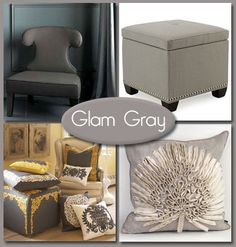 Going for the Gray                           We're not talking about that worn-out hoodie from your coed days. Think pure sophistication. Pair it with almost any color                             in the spectrum, and it's a hit. From dark grays and rich charcoals to pewters and cool chalky tones, gray is the new neutral.                             Anything but gloomy, gray is all glam!