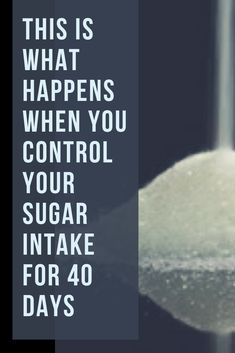 You won't believe how much your body changes by controlling sugar intake. Physical symptoms can include food cravings, headaches, fatigue, mood swings. Fat To Fit, Lose Fat, Lose Weight, Weight Loss, Sugar Withdrawal, How To Control Sugar, Sugar Intake, Mood Swings, What Happens When You