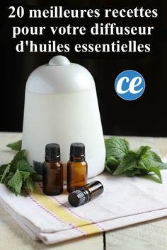 20 meilleures recettes pour diffuseur huiles essentielles