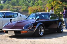 Fairlady 240Z ~ definitely, not original condition.