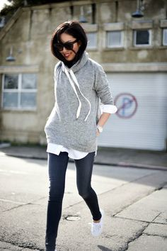 45 Chic Sweater Outfits for Teens 2015