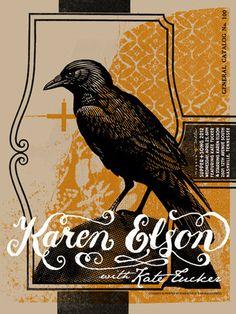 Karen Elson Poster
