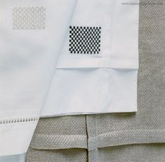 Linen Towels, Gayle Check Pleated. Fabulous check pleated detail on luxury linen napkins. Beautiful to use during a luxury evening dinner. Luxury interior design ideas.