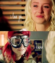 one of my favorite Naomily scenes :) Skins Generation 2, Kathryn Prescott, Skins Uk, Lesbian Love, Just Friends, Series Movies, Best Couple, My Heart Is Breaking, Best Tv