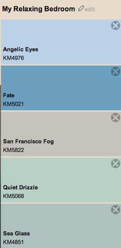 Find This Pin And More On Bedroom Ideas Calming San Francisco Fog By Kelly Moore Paints