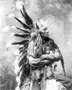 Original vintage old photos reproduced into contemporary prints. All photographs are chemically processed in photo labs and in great condition. Indian Chief Portriat 8x10 Reprint Of Old Photo Indian C