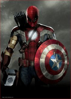 Marvel's Civil War Forges The Best Hero Ever The Avengers :--- Hybrid Theory ? Marvel Dc Comics, Marvel Avengers, Marvel Comic Universe, Marvel Funny, Marvel Art, Marvel Memes, Thanos Marvel, Captain Marvel, Captain America