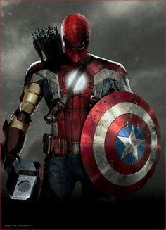 Marvel's Civil War Forges The Best Hero Ever The Avengers :--- Hybrid Theory ? Captain Marvel, Marvel Avengers, Marvel Memes, Marvel Dc Comics, Thanos Marvel, Marvel Comic Universe, Comics Universe, Superman Hero, Marvel Heroes