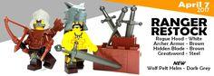 Dark Grey Wolf Pelt Helm Now Available Plus Ranger Restocks Hidden Blade, Lego News, Wolf, Dark Grey, Ranger, Image, Wolves, Timber Wolf