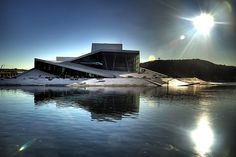 Oslo Opera House by Snøhetta