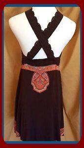 Make Me A OFFER ❤️ Free People Boho Dress Size Medium Retail $128 | eBay