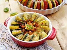 Tian de pommes de terre et courgettes