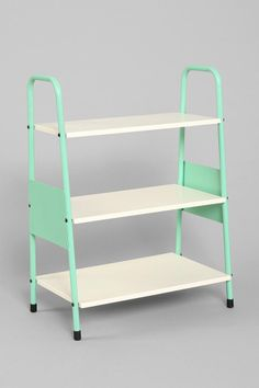 Assembly Home Ladder Shelf - this would be perfect for cookbook & small appliance storage in the kitchen
