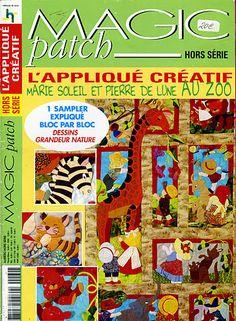 MAGIC PATCH - Laura alcañiz - Picasa Web Albums...appliqué patterns!