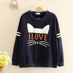 """Use this coupon code """"bajramoviclejla8"""" to get all 10% off! I love cat sweatshirts"""