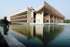 Chandighard construite par Le Corbusier Inde.