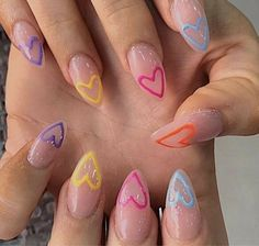 Edgy Nails, Funky Nails, Stylish Nails, Trendy Nails, Swag Nails, Funky Nail Art, Grunge Nails, Nagellack Design, Nagellack Trends
