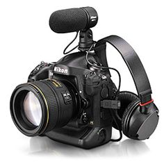 D4 Camera with a bunch of great lenses that make our pics look great in print or on the web and this thing can do great video for custom tours and shows.