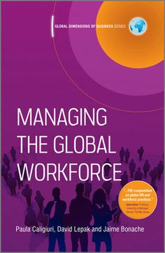 Human resource management (HRM) is the strategic and coherent approach to the management of an organization's employees. As the need for effective and top staff rises, Managing the Global Workforce provides the most up to date and topical information on accessing human resource management. 161.55 CAL