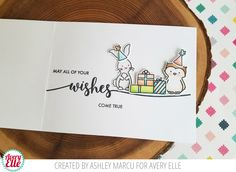 Check out these super cute cards by Heather and Ashley! Aren't they amazing?!  Supplies: Aloha clear stamps Aloha coordinating...