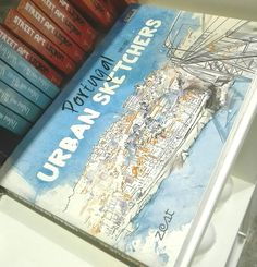 Portugal by urban sketchers published by Zest at original #originallisboa #drawingbook #illustrationbook #bookportugal #portugalillustrationbook #portugalbyurbansketchers #urbansketchers