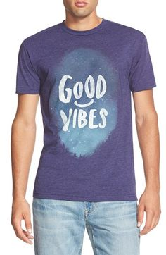 Free shipping and returns on threadless 'Good Vibes' Graphic T-Shirt at Nordstrom.com. Clear, starlit skies open up a soft, trim-fitting crewneck T-shirt to good times deep in the wild.