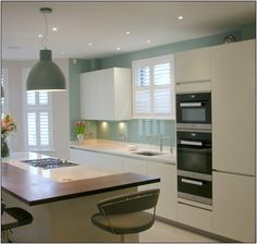 Gloss Kitchen with Miele appliances