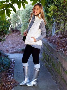 Hunter Boots for the Holidays - Casually Chic
