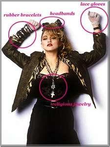 Madonna style...