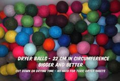 Leaping Sheep Wool Dryer Balls