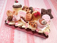 Bakery Sweets Kawaii Decoden Business Card Case by Lucifurious, $24.00