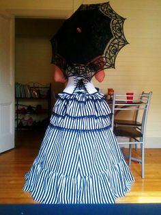 Victorian Style Skirt free tutorial