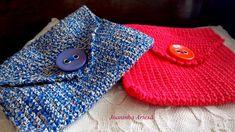 Lindas carteirinhas em crochê,linha 100% algodão.  Super práticas para levar o que quiser no seu dia a dia!!  Também uma linda forma de presentear!! R$ 18,00