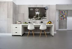 Piet Boon Styling by Karin Meyn | Boys room with Piet Boon wallpaper and marmoleum