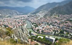 Amasya Amasya is set in the narrow, green valley of the Yesilirmak River northeast of the Turkish capital Ankara. The tombs of assorted Pontic kings, such as that scourge of late-Republican Rome, Mithradates IV), puncture the cliffs above the river, half-timbered Ottoman houses cluster by it - many of them now charming boutique hotels. Picture: AP/FOTOLIA Turkey's top 10 secret sights
