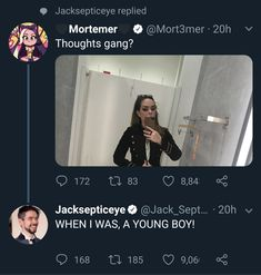 My theory on if Jack is emo or not has been proven correct. My theory on if Jack is emo or not has been proven correct. My theory on if Jack is emo or not has been prov Emo Band Memes, Mcr Memes, Music Memes, Emo Bands, Music Bands, Funny Memes, Hilarious, Music Stuff, My Music