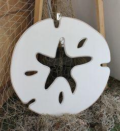 Sand Dollar Starfish Sign Wall Art.
